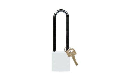 Nylon Kompakte Sicherheits-vorhängeschloss weiss 814152