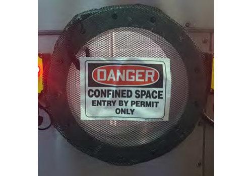 Afdeknet voor besloten ruimte