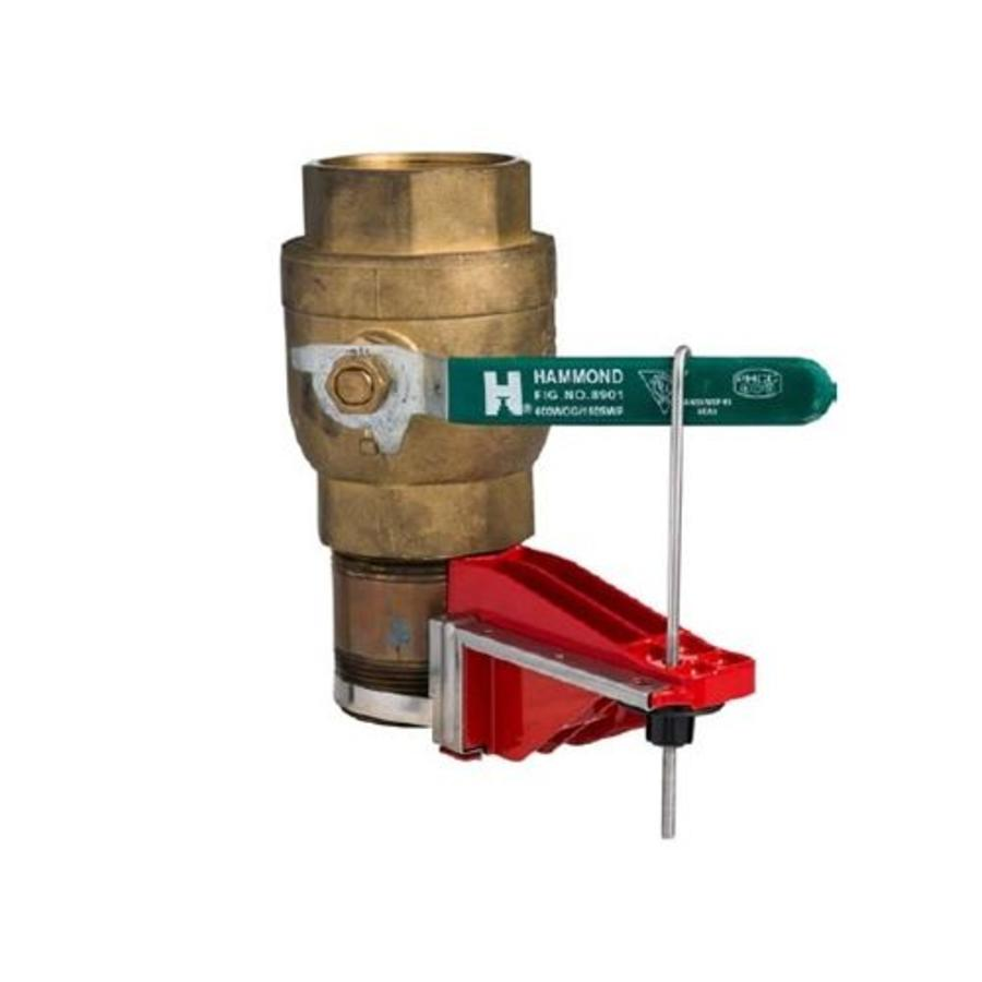 Perma-mount vergrendelingssyteem voor kogelkranen 121540-121541