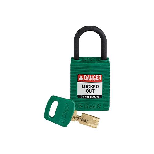 SafeKey Compact nylon veiligheidshangslot groen 150182