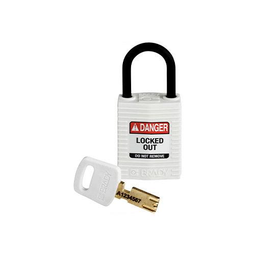 SafeKey Compact nylon veiligheidshangslot wit 150188