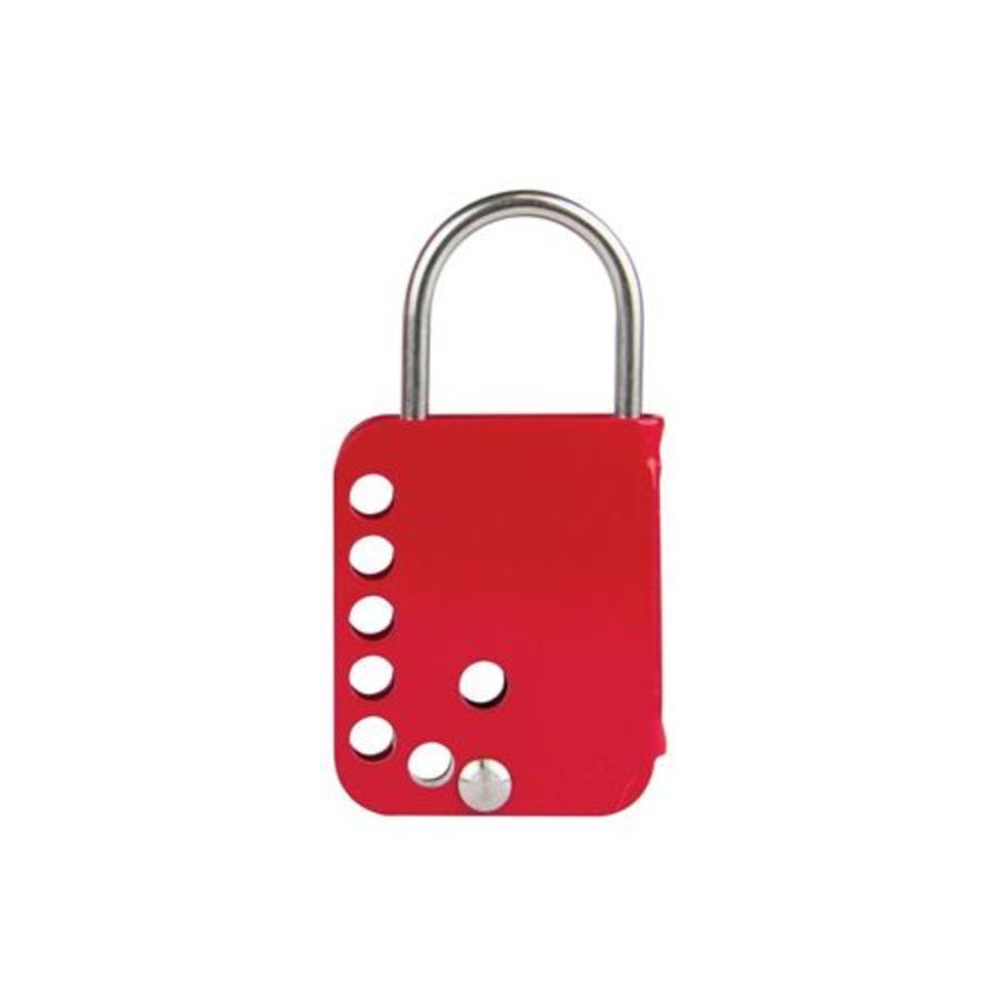 Padlock bracket with double safety lock 873384-852439