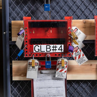 Groepsvergrendelingskast 152189 + documenten display