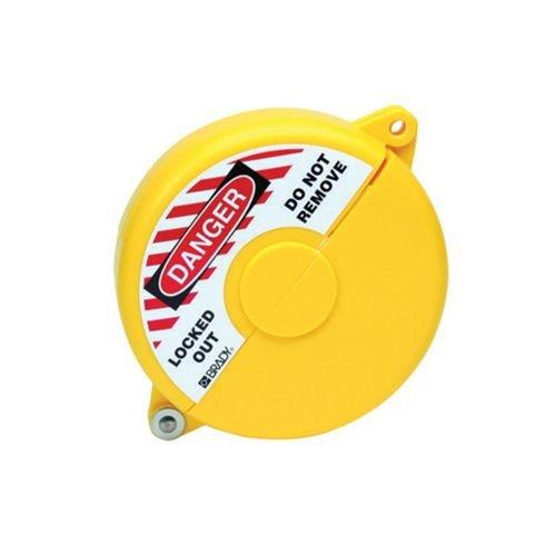 Absperrventilverriegelungen gelb 065590-065594