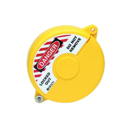 Lock-out devices for valves yellow 065590-065594