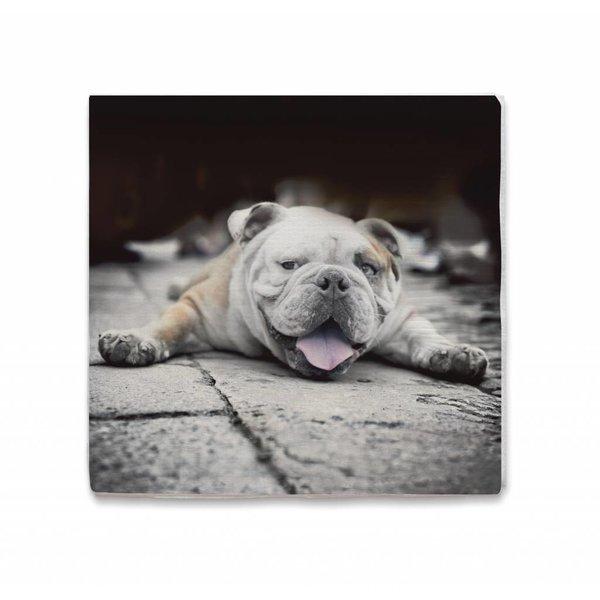 Cozy living Papierserviette mit Hundemotiv