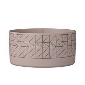"Bloomingville Schüssel ""Carina"" rosa aus Keramik"