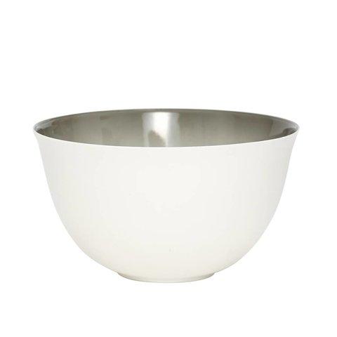 Schale weiß/grau aus Porzellan