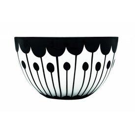 frjor Schale weiß / schwarz aus Porzellan M2