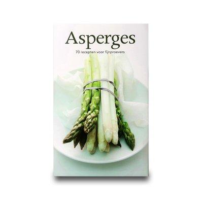 Asperges, 70 recepten voor fijnproevers . Harde kaft, gebonden, 29x18 cm. Fraaie foto's en duidelijke recepten