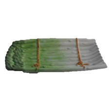 Schaal asperge groen 35 cm