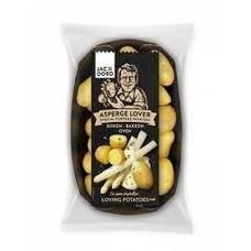 Asperge lover aardappeltjes