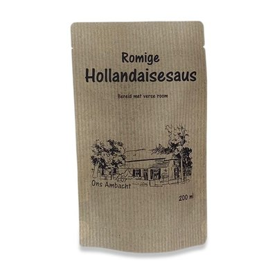 Ambachtelijk Hollandaise saus.