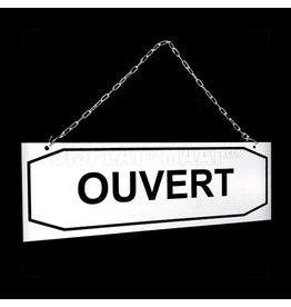 Ouvert/Fermé bordje