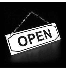 Open/gesloten bordje