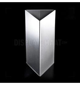 Menustandaard driehoek ontspiegeld