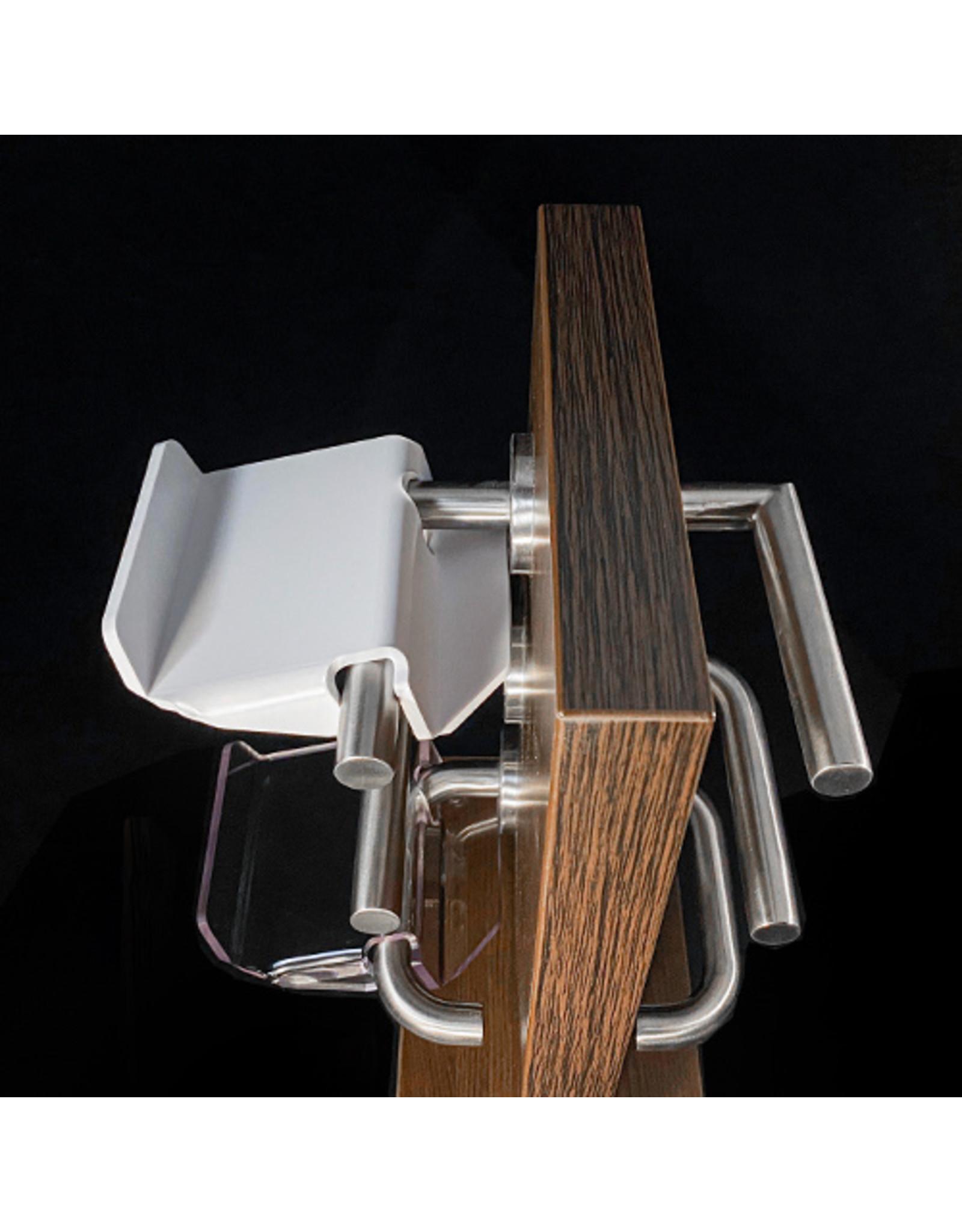Set van 2 stuks Handsfree deuropeners COVID-19 wit