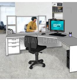 Frame kast met beschermplaat Office