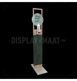 Deluxe desinfectie display incl. 1000ml handgel