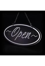 Open/gesloten bordje Chalk