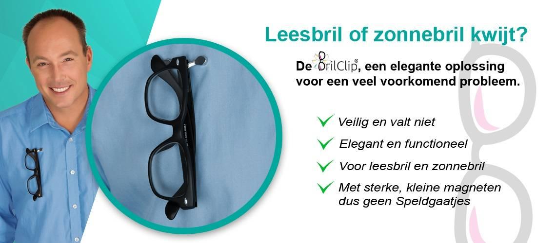 Gemakkelijk in gebruik, verlies uw bril niet langer maar heb hem altijd bij de hand!