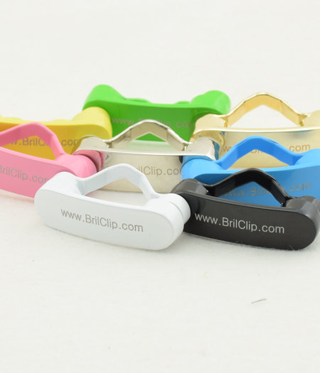Bestel 1 BrilClip® € 12,95 ipv € 14,95 in kleur naar keuze
