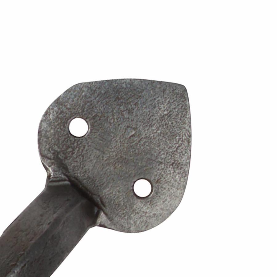 Smeedijzeren handgreep punt 153 mm - Pewter