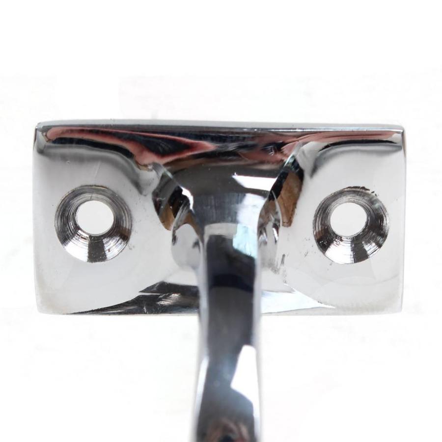 Trapleuninghouder 68mm - nikkel gepolijst