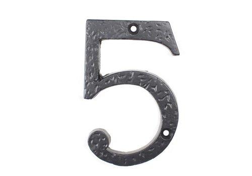 Gietijzeren huisnummer 5
