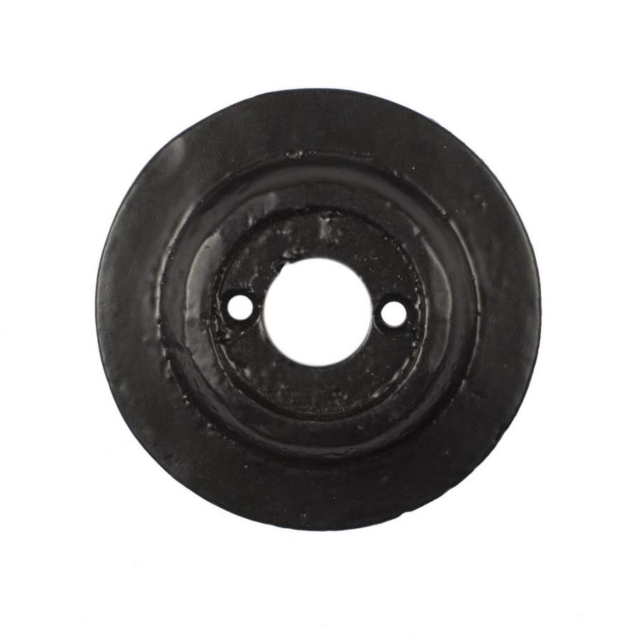 Gietijzeren deurknop, knopkruk rond
