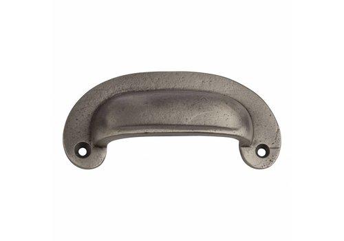 Fingertip Designs Komgreep pewter ovaal