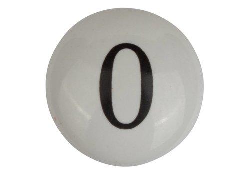 Meubelknop nummer 0