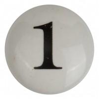 Porseleinen meubelknop nummer 1