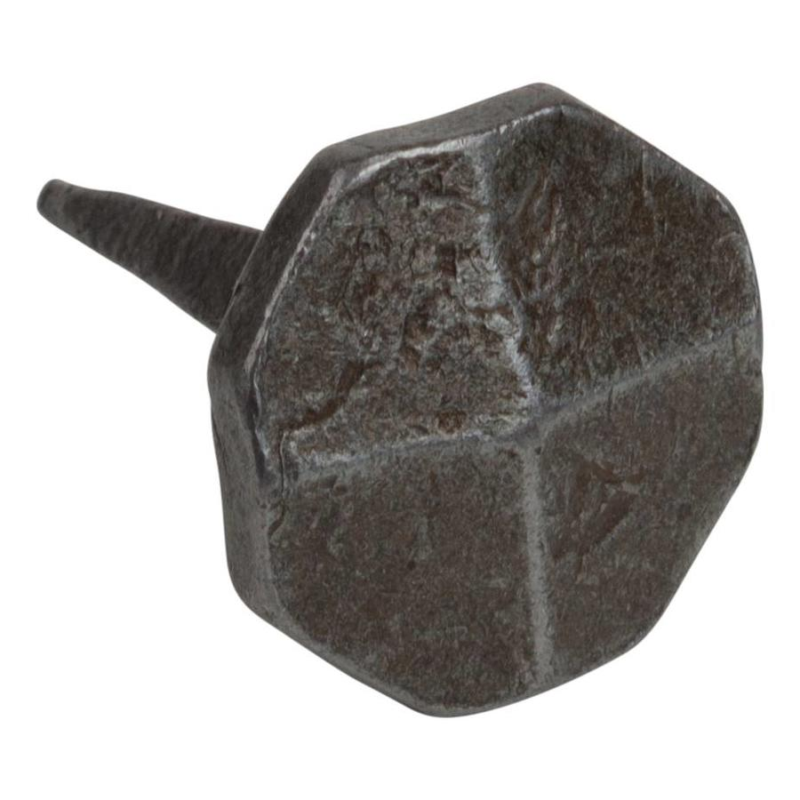 Siernagel 22 x 22 x 35mm - achthoekige kop - Pewter