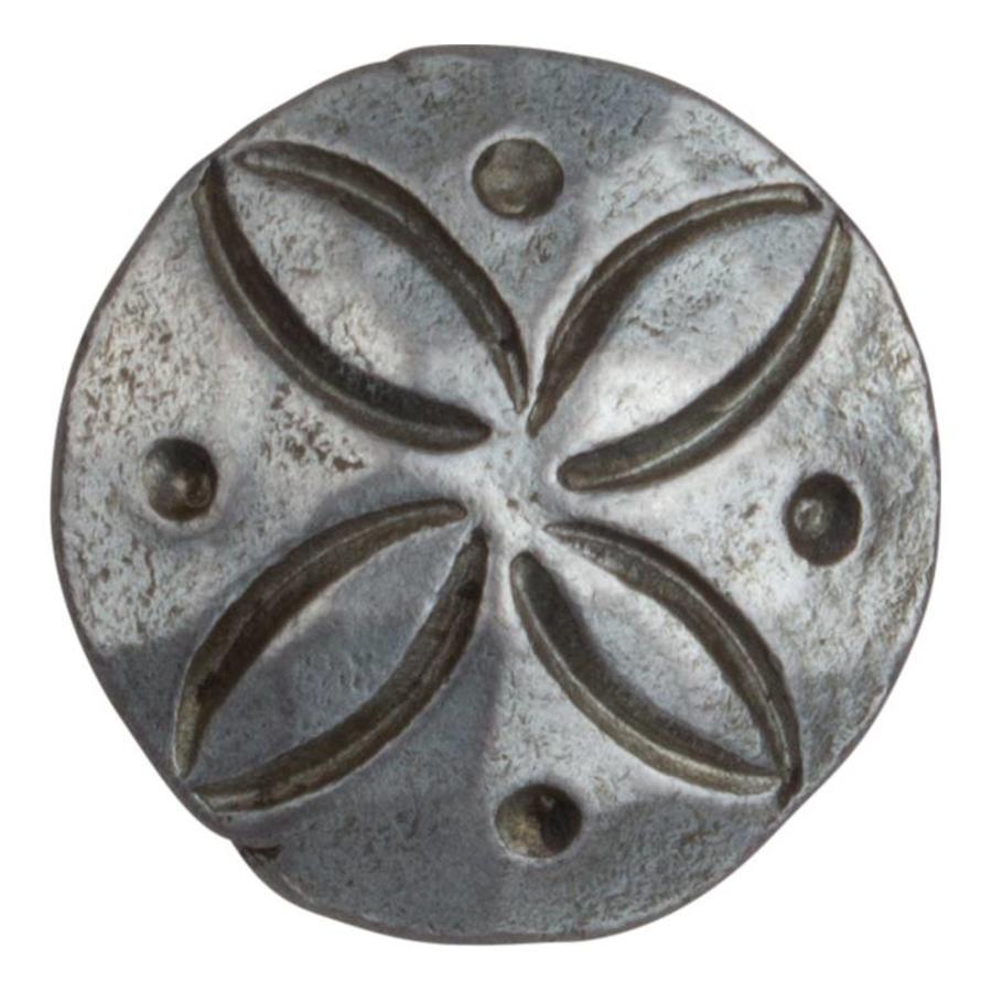 Siernagel 22 x 35mm - ronde kop - Pewter