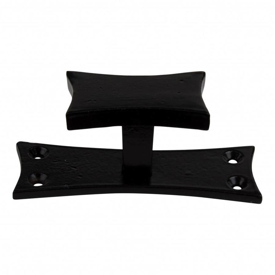 Gietijzeren meubelgreep / kastgreep KBC18 zwart