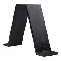 Gietijzeren tafelsteun industrieel - zwart gelakt