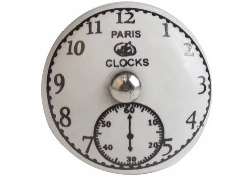 "Meubelknop 40mm ""Paris Clocks"""