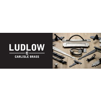 Deurkruk op schild - blind - Gotische  - Ludlow Foundries