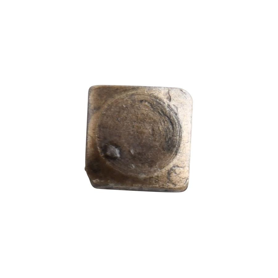 Houtdraadschroef antiek Brons M6 x 35 - vierkante kop