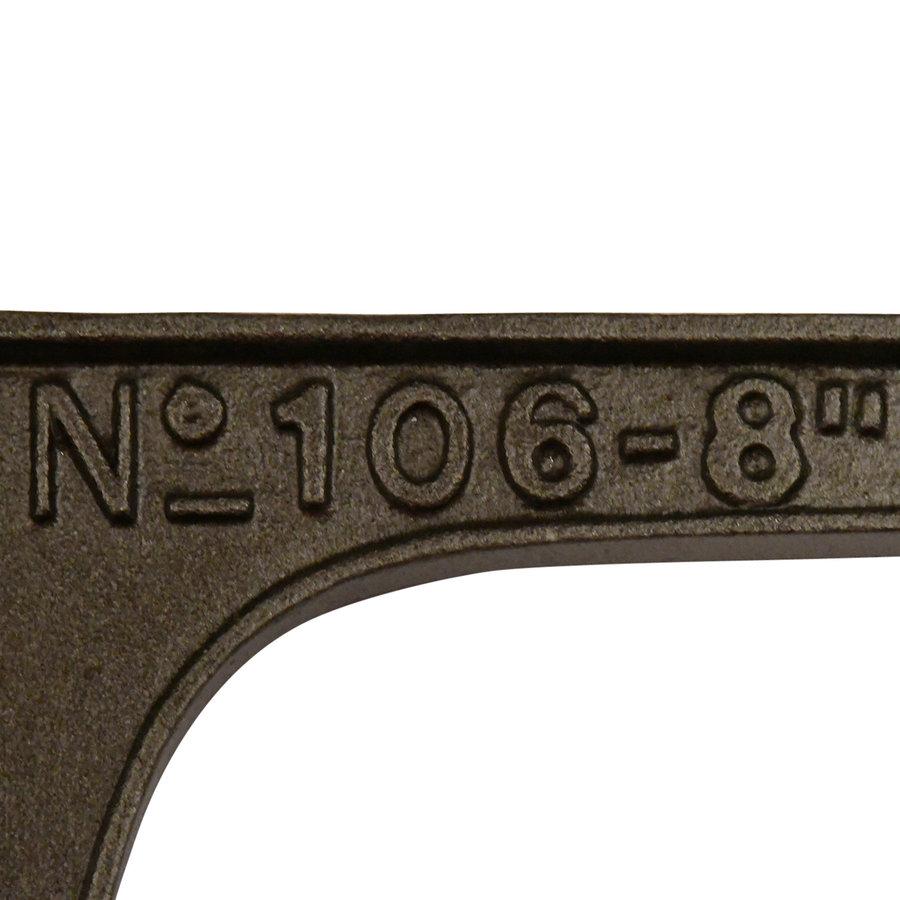 Gietijzeren plankdrager met Industriële uitstraling '' N°106-8 ''