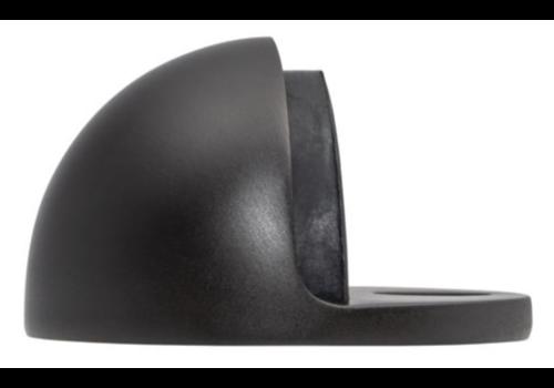 Ludlow Foundries Deurstopper half rond - mat zwart gelakt