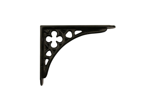Plankdrager Klaver - zwart