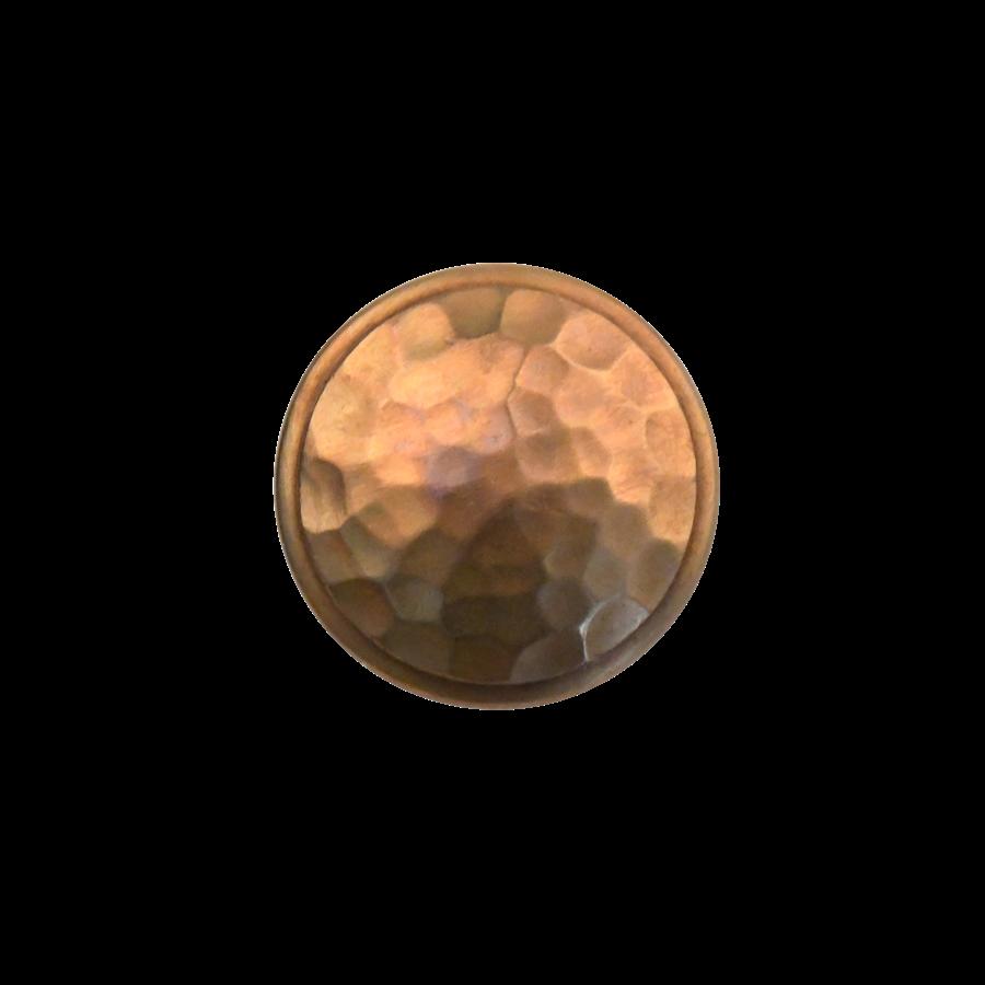 Meubelknop 40 mm - massief brons industrieel