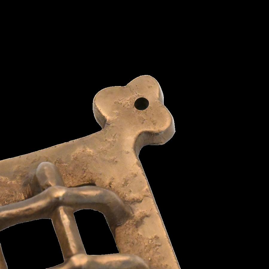 Raamrooster Heeswijk - Massief brons
