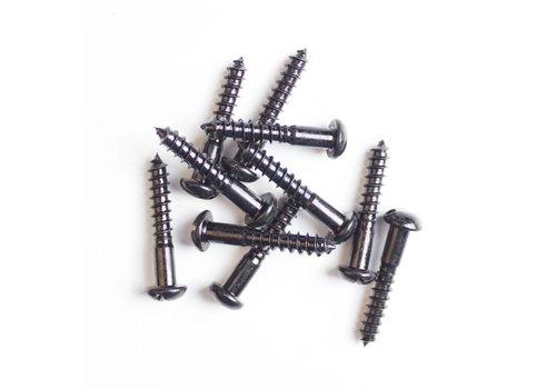 Bolkopschroef gezwart, 4.0 x 30mm
