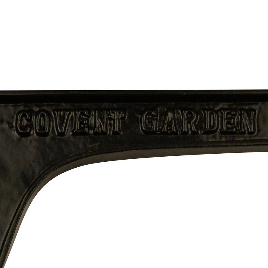 Gietijzeren plankdrager 'Covent Garden' - Zwart gelakt
