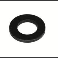 Blackline Sluitring Gezwart HCP-Coating 6.4 x 12 x 1.6mm