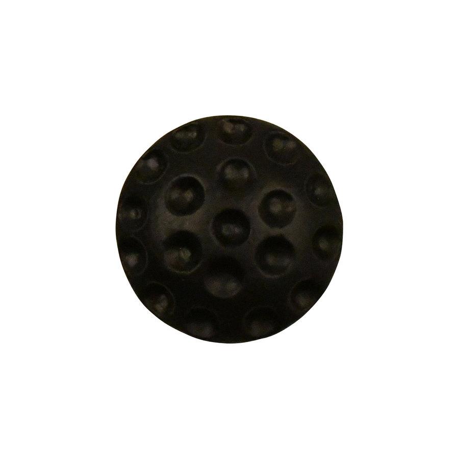 Gietijzeren meubelknop rond 34 mm