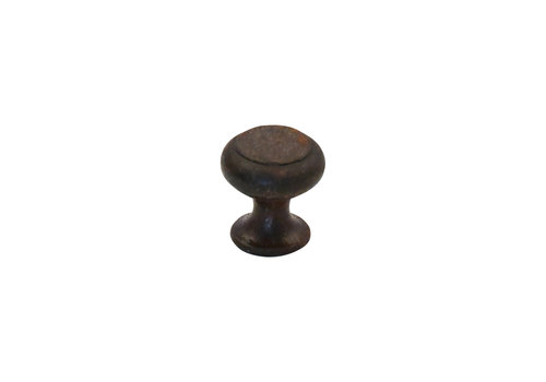 Meubelknop 28mm roest rond